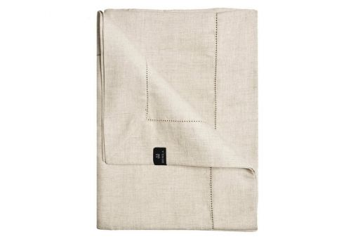 Ebba tablecloth, nature, hemstitch, various sizes