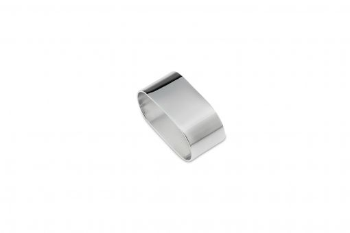 Napkin Ring, Classic Band, silver plated