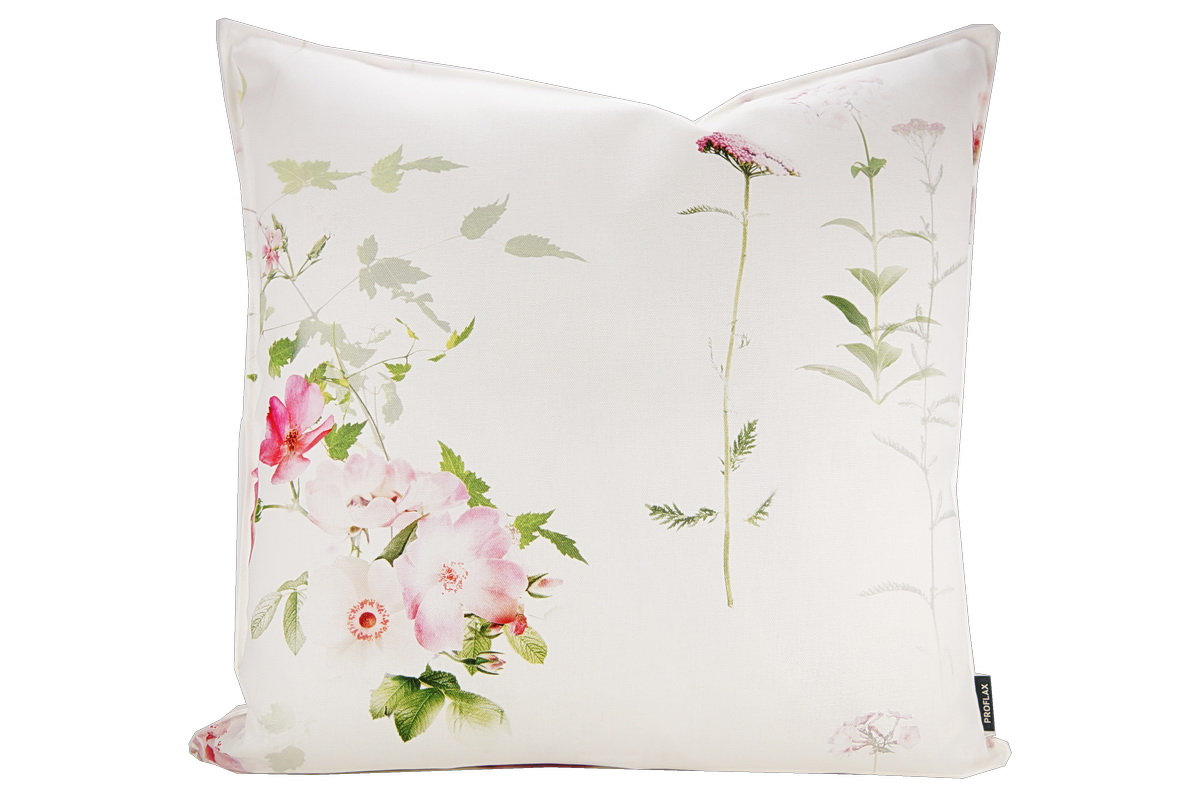 Annes Table Marly All Over Print Pretty Spring Flowers Cushion