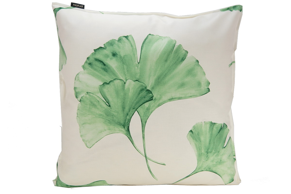 annes table ginkgo all over print ginkgo leaves cushion cover