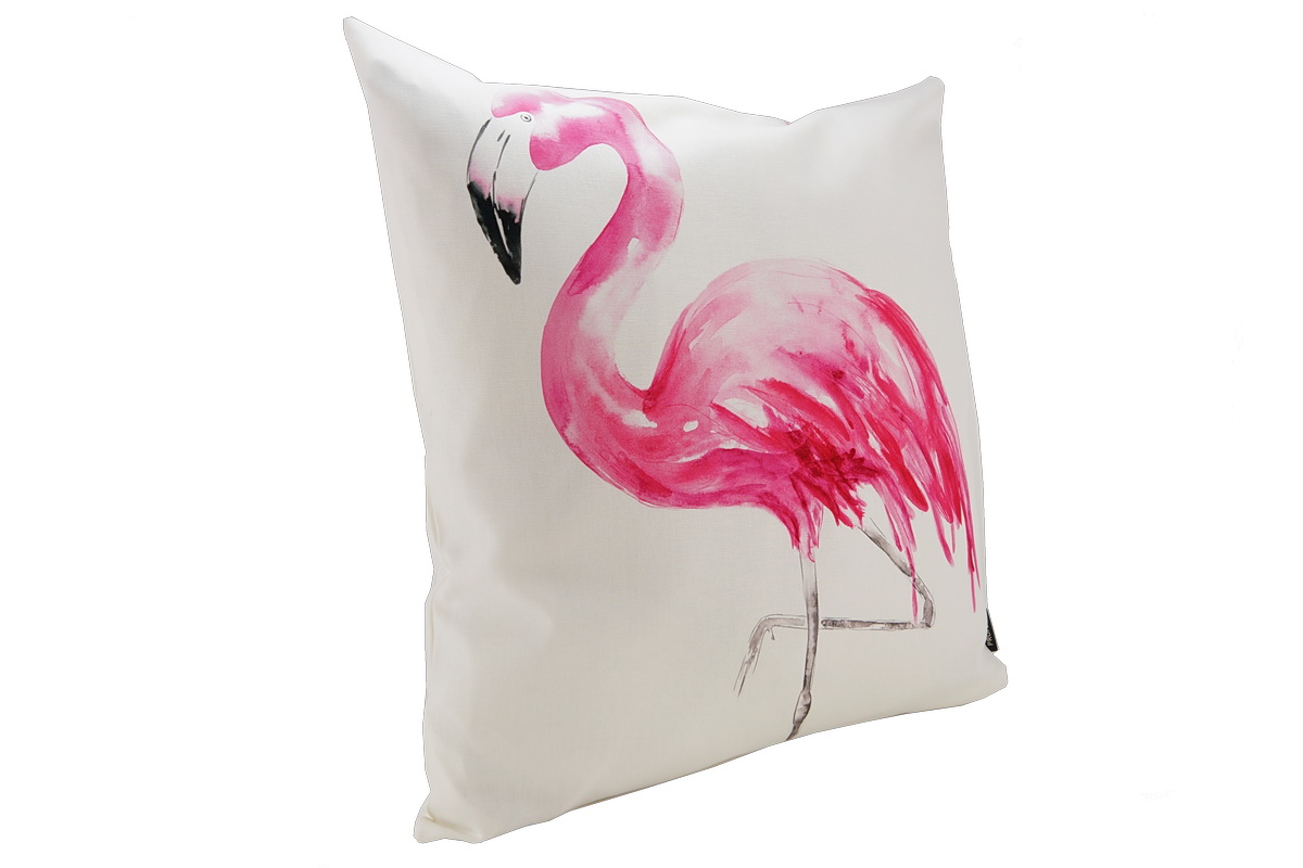 annes table pinco digital print drawn flamingo. Black Bedroom Furniture Sets. Home Design Ideas